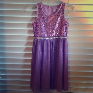 EUC! Sequin Dress** Girls 10